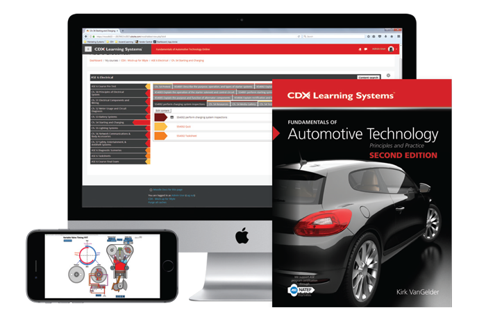 CDX Learning Systems | Automotive Technician Training